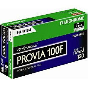 フジフイルム 【ブローニー】プロビア100F 120 5本パック(新パッケージ)[120PROVIA100FEPNP12E]