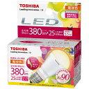東芝 TOSHIBA LED電球 「キレイ色」(ミニクリプトン形[下方向タイプ]・全光束380lm/電球色相当・口金E17) LDA6L-D-H-E17/S[L...