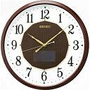 【送料無料】 セイコー ハイブリッドソーラー電波掛け時計 SF241B 【メーカー直送・代金引換不可・時間指定・返品不可】
