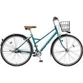 【送料無料】 ブリヂストン 27型 自転車 ビレッタ コンフォート(P.コスミックターコイズ)VN73BT【3段変速】 【代金引換配送不可】