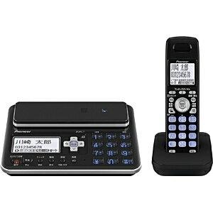 【送料無料】 パイオニア 【子機1台】デジタルフルコードレス留守番電話機 TF-FA70W-K(ブラック)[TFFA70WK]