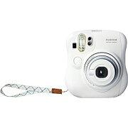 【送料無料】 富士フイルム FUJIFILM インスタントカメラ instax mini 25 『チェキ』 ホワイト 純正ハンドストラップ付き[INSMINI25WTN]