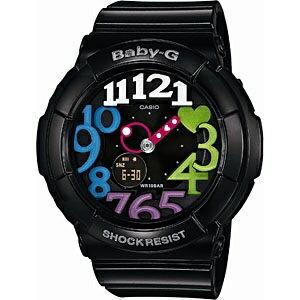 【送料無料】 カシオ Baby-G(ベイビージー) 「Neon Dial Series(ネオンダイアルシリーズ)」 BGA-131-1B2JF[BGA1311B2JF]