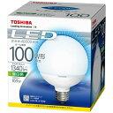 【あす楽対象】 東芝 LED電球 (ボール電球形・全光束1340lm/昼白色相当・口金E26) LDG11N-H/100W[LDG11NH100W]