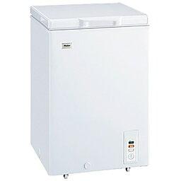【標準設置費込み】 ハイアール チェスト式冷凍庫 (103L) JF-NC103F-W ホワイト[JFNC103F]