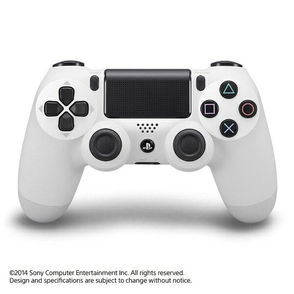 【あす楽対象】【送料無料】 ソニーコンピューターエンタテイメント PS4専用ワイヤレスコントローラー [DUALSHOCK4] グレイシャー・ホワイト【PS4】