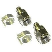 マスプロアンテナ 5C用F型接栓 (2個入り) FP5-2P[FP52P]