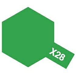 タミヤ タミヤカラー エナメル X-28 パークグリーン