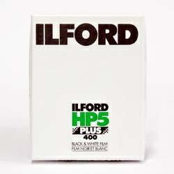 【送料無料】 イルフォード 【シートフイルム】イルフォード HP5 プラス 400(4×5インチ)25枚[HP54X525]