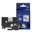 ブラザー ピータッチ(P-touch) ラミネートテープ (透明テープ/黒文字/12mm幅) TZe-131[TZE131]