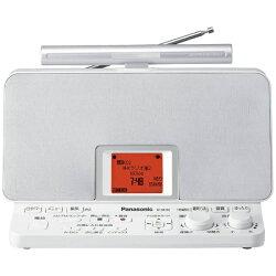 【送料無料】パナソニックRF-DR100-WFM/AMラジオレコーダー【SDカード記録型】(グレイスホワイト)RF-DR100-W[RFDR100]