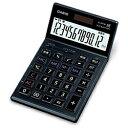 【送料無料】 カシオ 本格実務電卓 (12桁) JS-201SK-BK-N(ブラック)[JS201SKBKN]
