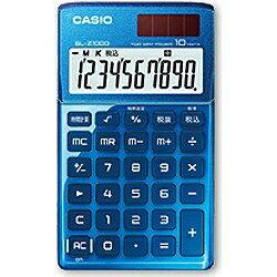 カシオ デザイン電卓 (10桁) SL-Z100...の商品画像