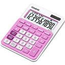 カシオ カラフル電卓 「ビター&ミルキー」(10桁) MW-C11A-PK-N(ベイビーピンク)[MWC11APKN]