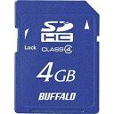 BUFFALO 4GB・Class4対応SDHCカード RSDC-S4GC4B[RSDCS4GC4B]
