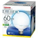 東芝 LED電球 (ボール電球形・全光束730lm/昼白色相当・口金E26) LDG7N-H/60W[LDG7NH60W]