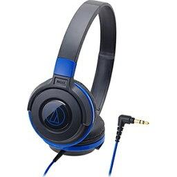 オーディオテクニカ ヘッドホン (ブラックブルー) ATH-S100BBL[ATHS100BBL]