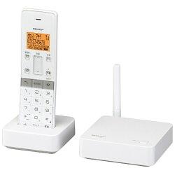 【2014年06月27日発売】【送料無料】シャープ【子機1台】デジタルコードレス留守番電話機JD-SF1CLW(ホワイト系)[JDSF1CLW]