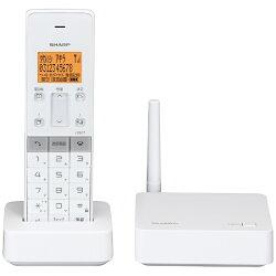 【あす楽対象】【送料無料】シャープ【子機1台】デジタルコードレス留守番電話機JD-SF1CLW(ホワイト系)[JDSF1CLW]