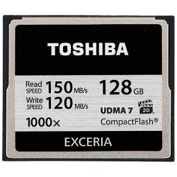 【送料無料】東芝128GBコンパクトフラッシュEXCERIACF-EZ128[CFEZ128]