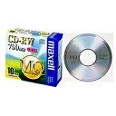 マクセル Maxell CDRW80MQ.S1P10S データ用CD-RW MQシリーズ 10枚 /700MB CDRW80MQS1P10S