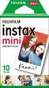 フジフイルム FUJIFILM チェキ インスタントカラーフィルム instax mini 1パック(10枚入)