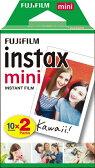 【あす楽対象】 フジフイルム チェキ インスタントカラーフィルム instax mini 2パック(10枚入×2)