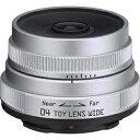 リコー(ペンタックス) 交換レンズ 6.3mm F7.1 04 TOY LENS WIDE【ペンタックスQマウント】[04TOYLENDSWIDE]
