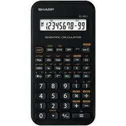 シャープ SHARP スタンダード関数電卓 「ピタゴラス」 EL-501J-X[EL501JX]
