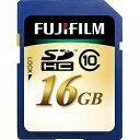 フジフイルム 16GB・Class10対応SDHCカード SDHC-016G-C10[SDHC016GC10]