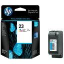 HP ヒューレット・パッカード C1823D 純正プリンターインク 23 3色カラー[C1823D]