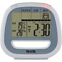 タニタ 季節性インフルエンザ予防デジタル温湿度計 TT-549-BL(ブルー)