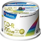 【あす楽対象】 三菱化学メディア 48倍速対応 データ用CD-Rメディア(700MB・50枚) SR80FP50V2
