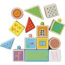 玩具, 興趣, 遊戲 - ニチガンオリジナル Peek a boo blocks