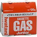 岩谷産業 カセットガスジュニア(2本セット) CB-JR-1...