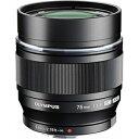 【送料無料】 オリンパス 交換レンズ M.ZUIKO DIGITAL ED 75mm F1.8【マイクロフォーサーズマウント】(ブラック)[ED75MMF1.8BLK]