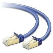 エレコム カテゴリー7  LANケーブル 10ギガビットイーサネット  (ブルーメタリック・2.0m) LD-TWST/BM20