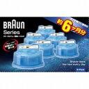 ブラウン クリーン&リニューシステム専用洗浄液カートリッジ(6個入) CCR6-CR