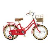 【送料無料】 ブリヂストン 18型 幼児用自転車 ハッチ(レッド)HC182 【代金引換配送不可】