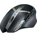 【送料無料】 ロジクール ワイヤレス光学式ゲーミングマウス[USBレシーバー] Logicool G602 Wireless Gaming Mouse(ブラック) G602