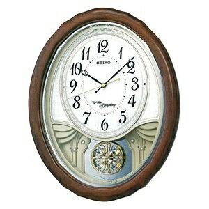 【送料無料】 セイコー 電波からくり時計 AM257B