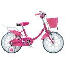 【送料無料】 ブリヂストン 16型 子供用自転車 ハローキティ ポップ(マゼンタ) KT16E3 【代金引換配送不可】