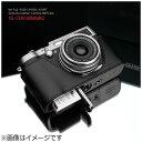 【送料無料】 GARIZ 本革カメラケース 【富士フイルム FinePix X100/X100S兼用】(ブラック) XS-CHX100MABK2[XSCHX10...