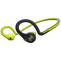 【送料無料】プラントロニクススマートフォン対応[Bluetooth3.0]ヘッドセットUSB充電ケーブル付(グリーン)BackBeatFIT[BACKBEATFITGR]
