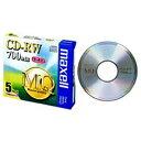 マクセル Maxell CDRW80MQ.S1P5S データ用CD-RW MQシリーズ [5枚 /700MB][CDRW80MQS1P5S]