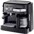 【送料無料】 デロンギ ≪エスプレッソマシン兼用≫コーヒーメーカー BCO410J-B ブラック[BCO410J]