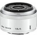 【送料無料】 ニコン 交換レンズ 1 Nikkor 18.5mm f/1.8【ニコン1マウント】(ホワイト)[1N18.51.8WH]