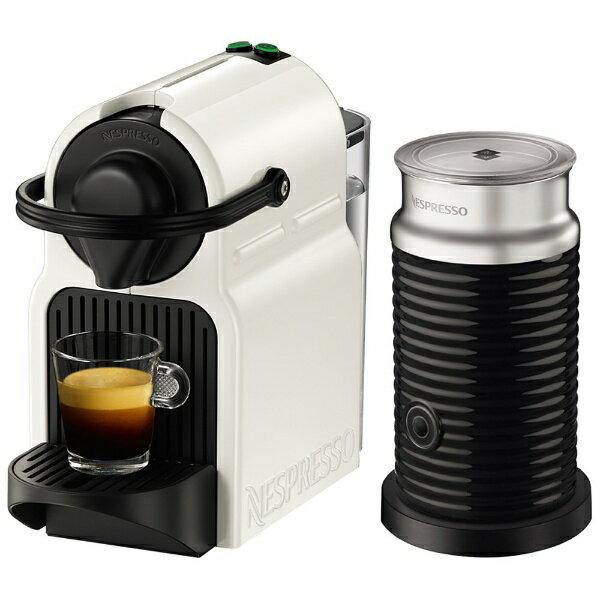 【送料無料】 ネスレネスプレッソ 【決算セール】専用カプセル式コーヒーメーカー 「イニッシア バンドル」 C40-WH-A3B ホワイト[C40WHA3B]