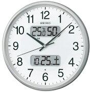 【送料無料】 セイコー SEIKO 電波掛け時計 KX383S[KX383S]