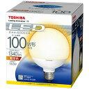 【あす楽対象】 東芝 LED電球 「E-CORE」(ボール電球形・全光束1340lm/電球色・口金E26) LDG13L-H/100W[LDG13LH100W]